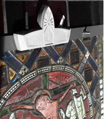 Feuchtesensor überwacht historische Glasmalereien